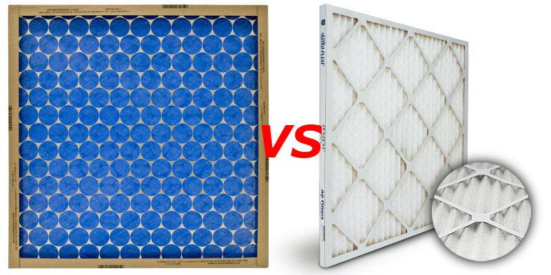 """hog's hair"" vs pleated air filter"